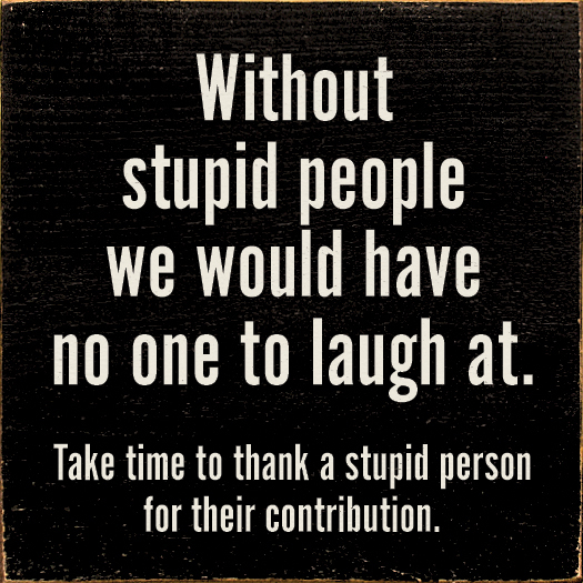 Silly People Quotes: Dumb People Quotes. QuotesGram