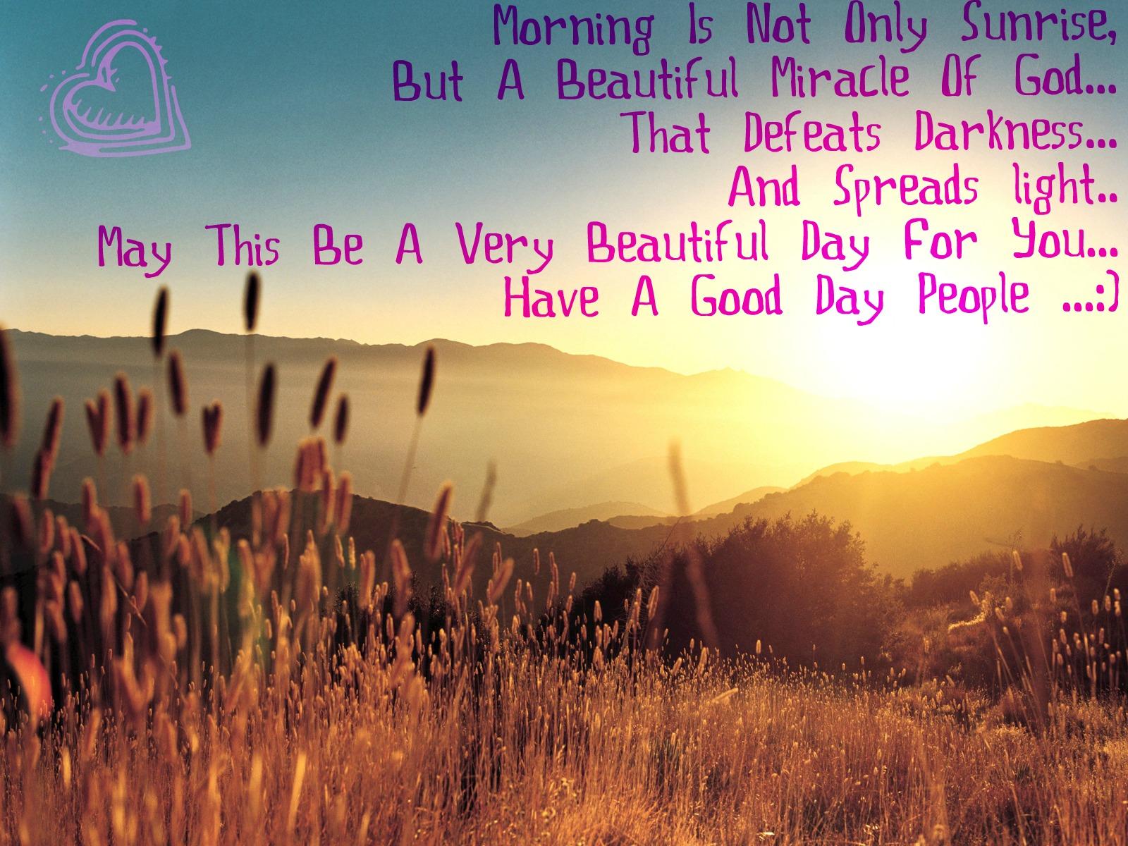 Beautiful Sunrise Quotes. QuotesGram