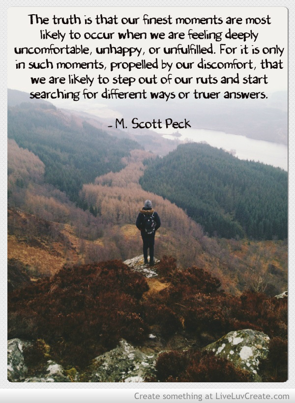 reflection scott peck St therese on suffering f scott peck is the author of the national best seller,  ©2018 society of the little flower.