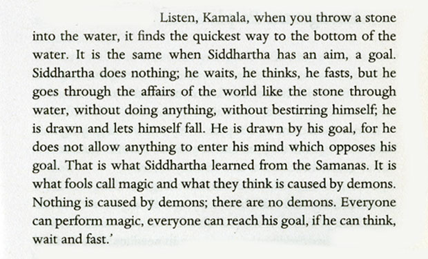 meaning of the river in siddhartha essay