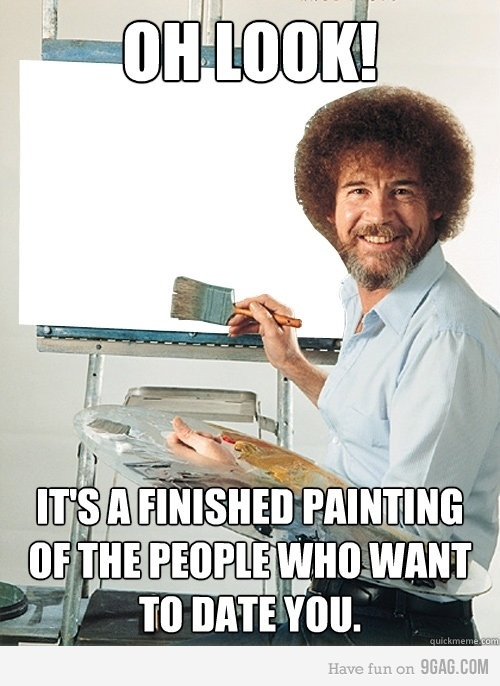 bob ross funny quotes  quotesgram