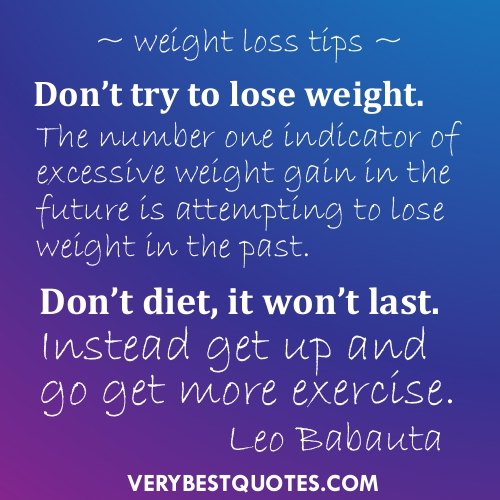 weight loss inspirational quotes quotesgram