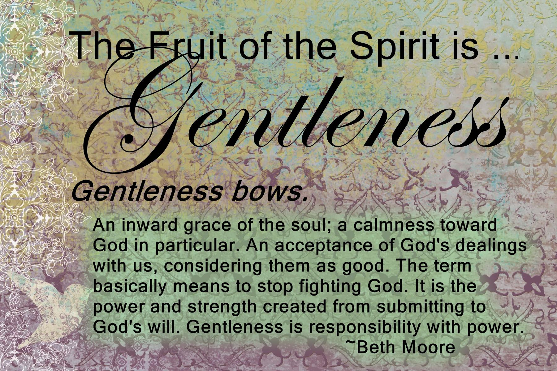 Gentleness Quotes. QuotesGram