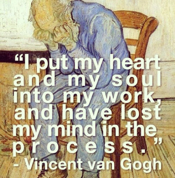Vincent Van Gogh Quotes. QuotesGram