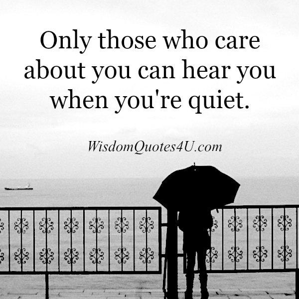 Those Who Care Quotes. QuotesGram