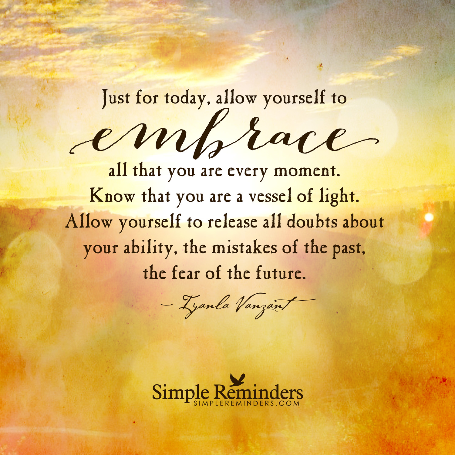embrace who you are quotes quotesgram
