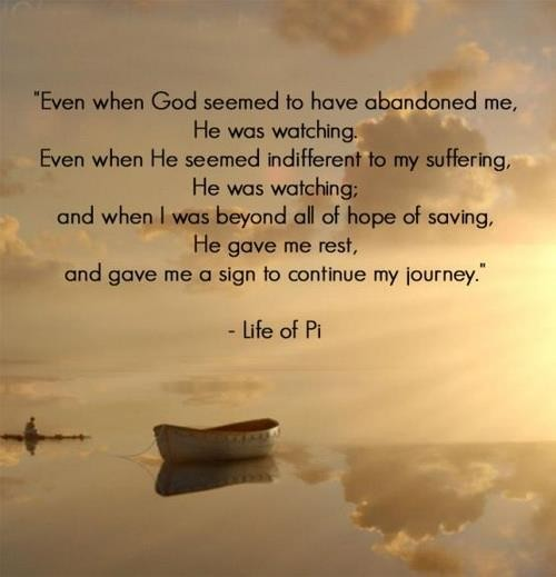 life of pi religion thesis Check out our 'life of pi' essay sample answering the question: what  pi tried to  understand god, becoming an adherent of three religions.