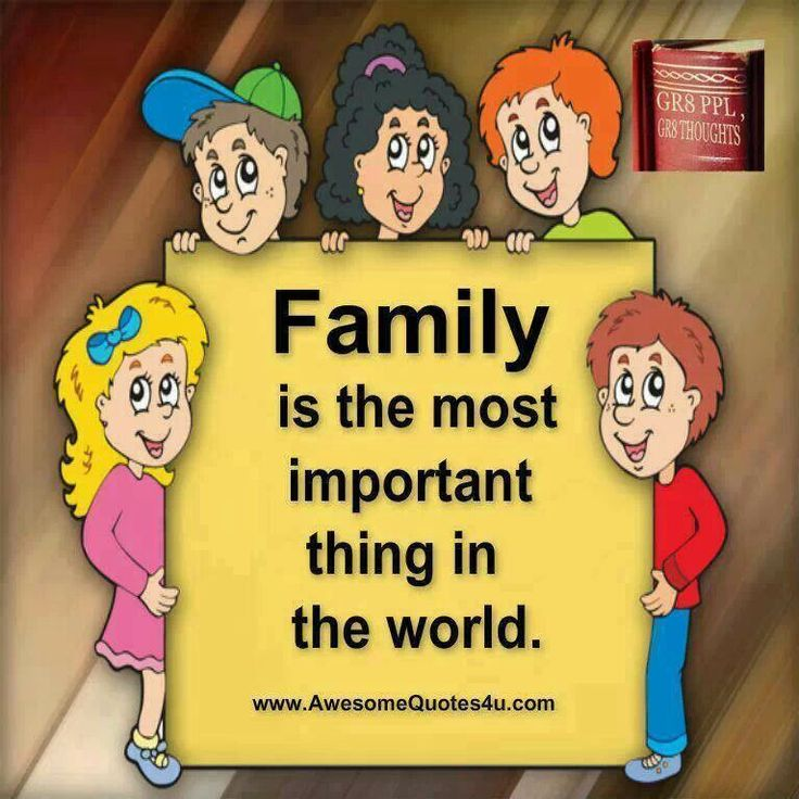 Why Family Is Important Quotes: Famous Quotes About Family Importance. QuotesGram