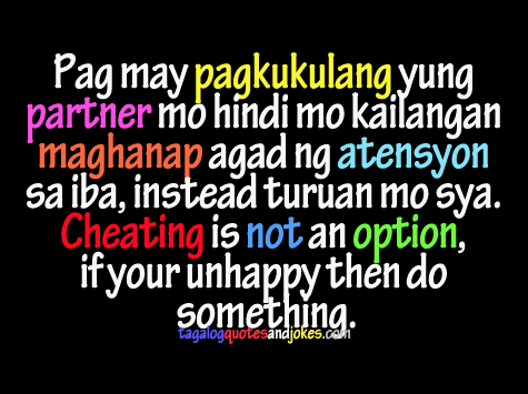 Tagalog Sad Love Quotes. QuotesGram