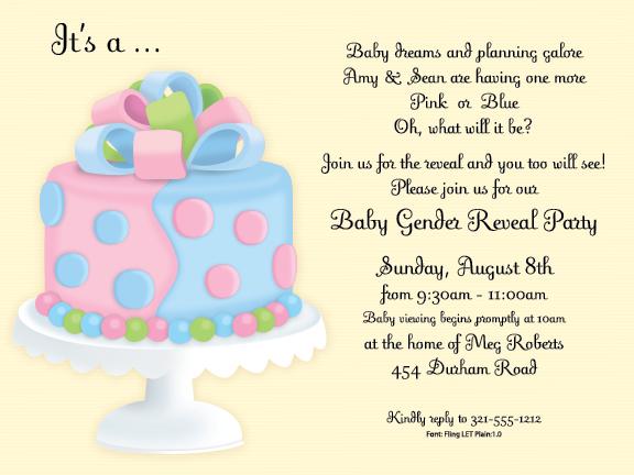 Baby Reveal Cake Sayings