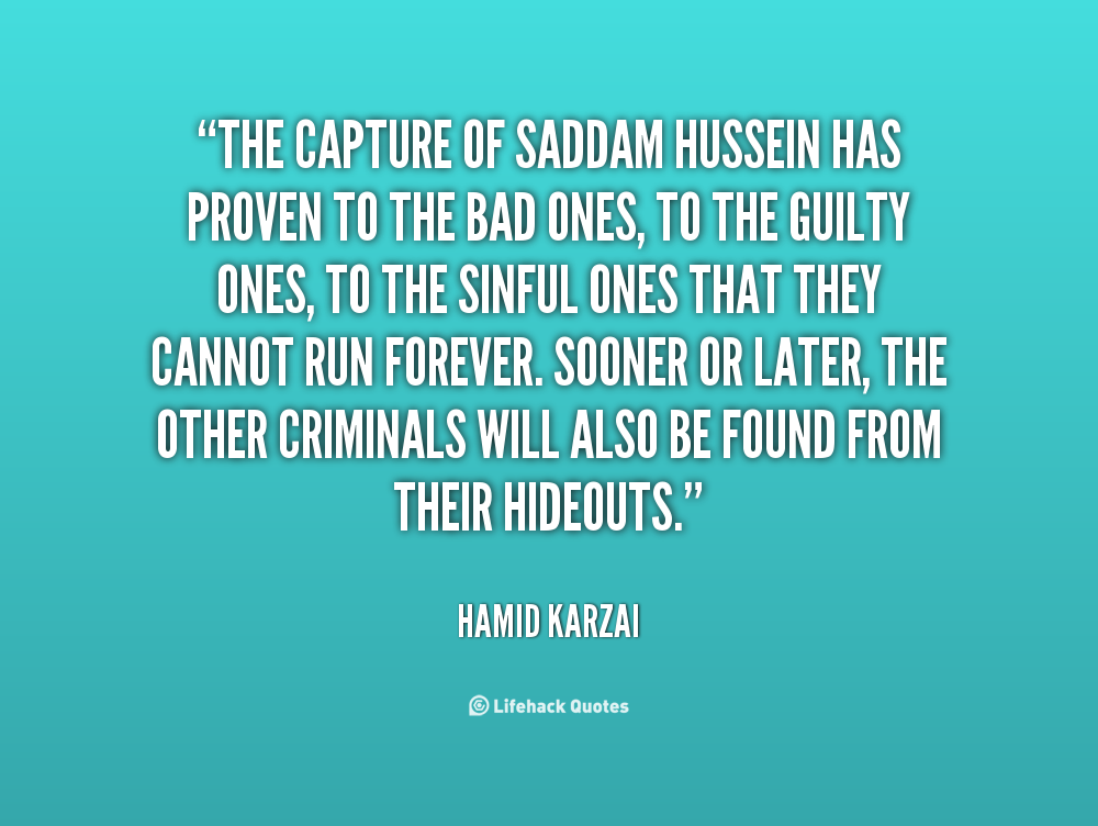 a comparison of saddam hussein and mohandus gandhi So much propaganda surrounds president saddam hussein of iraq that it   comparison of facial features, has detected at least three saddam.