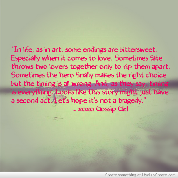 Gossip Girl Quotes About Love. QuotesGram