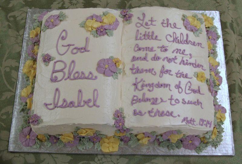 Baptism Cake Quotes Quotesgram