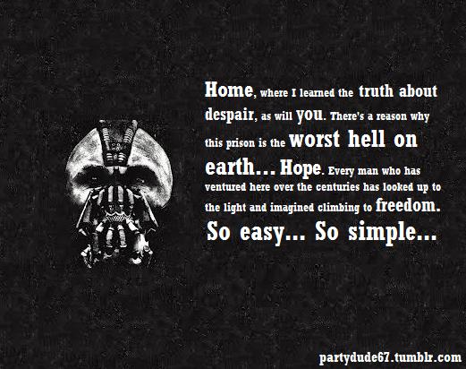 The Dark Knight Quotes: The Dark Knight Rises Quotes. QuotesGram