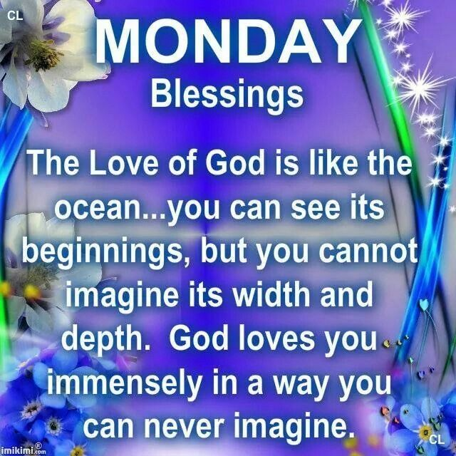 Monday blessings quotes quotesgram - Monday blessings quotes and images ...