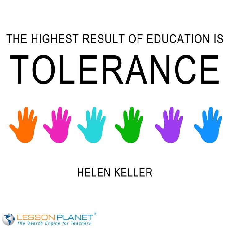 Essay On Tolerance