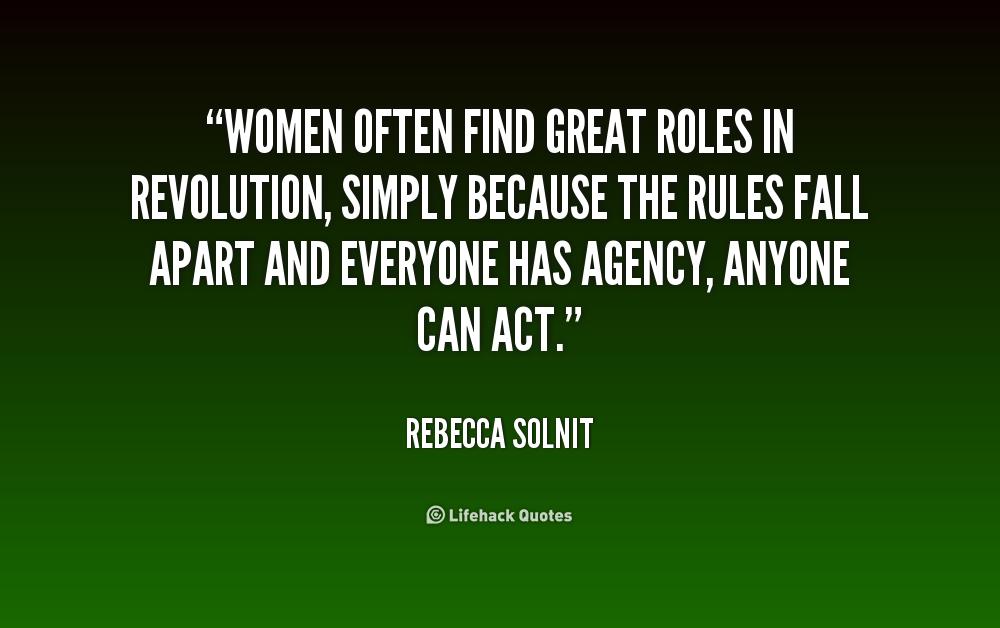 Rebecca Solnit Quotes. QuotesGram