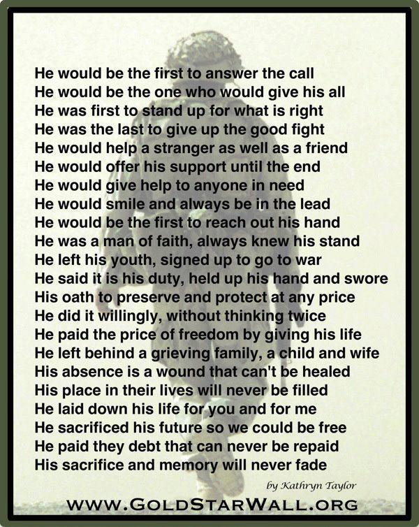 military ultimate sacrifice quotes - 600×754