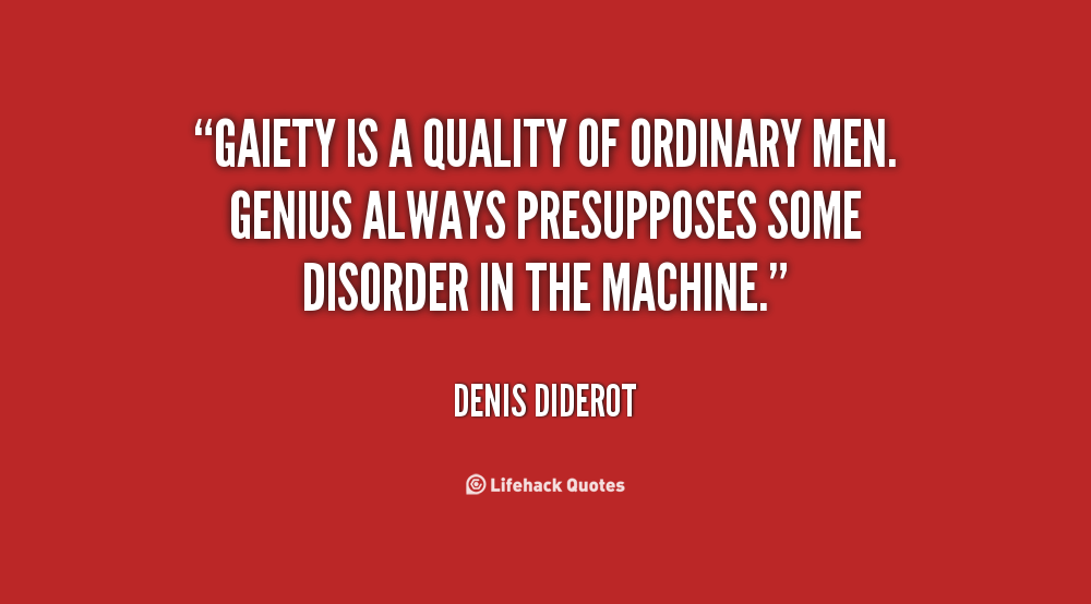 a biography of denis diderot Denis diderot (french: [dəni did(ə)ʁo] 5 october 1713 – 31 july 1784) was a french philosopher, art critic, and writer he was a prominent figure during the.