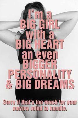 Beautiful plus size quotes
