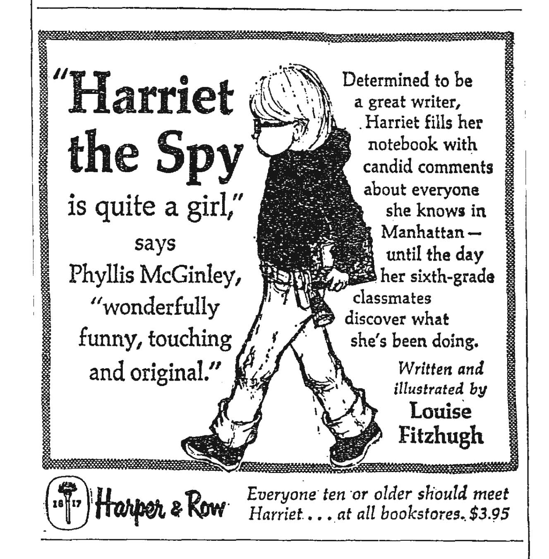 Essay/Term paper: Harriet the spy essay