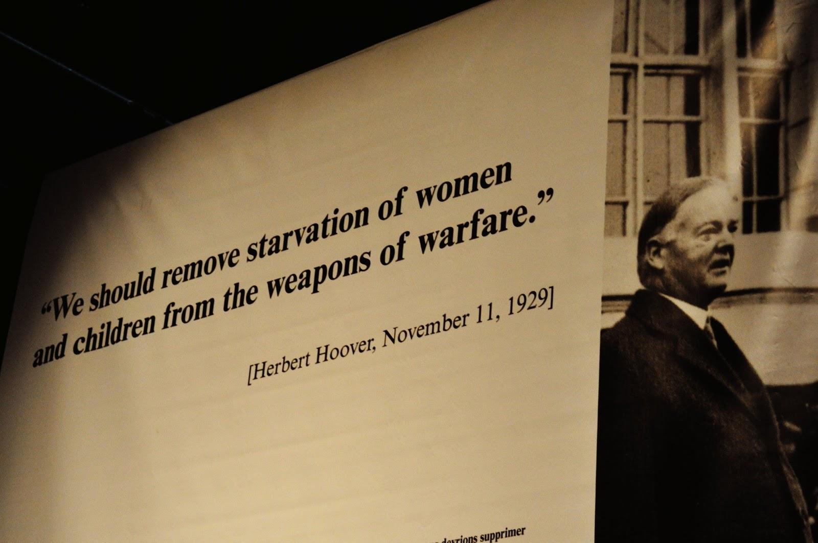 herbert hoover quotes on war quotesgram