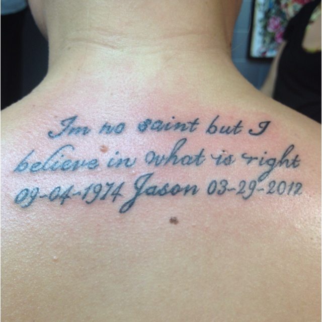 Rest In Peace Quotes Tattoos. QuotesGram