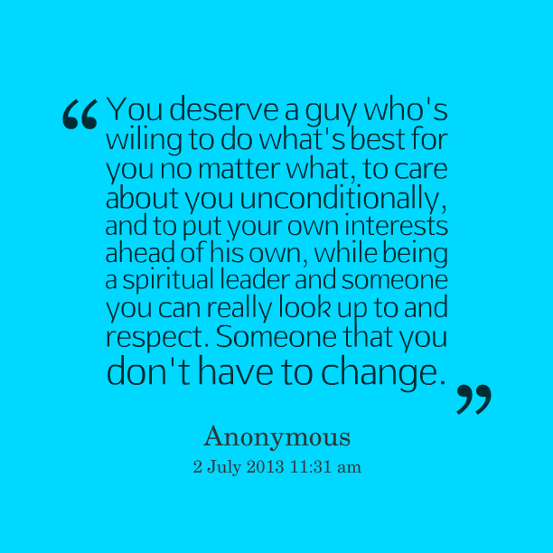 I Deserve A Good Man Quotes: Quotes Do Whats Right. QuotesGram
