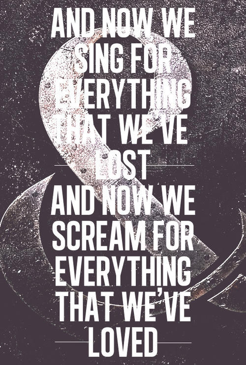 Sad Quotes About Screamo Bands. QuotesGram