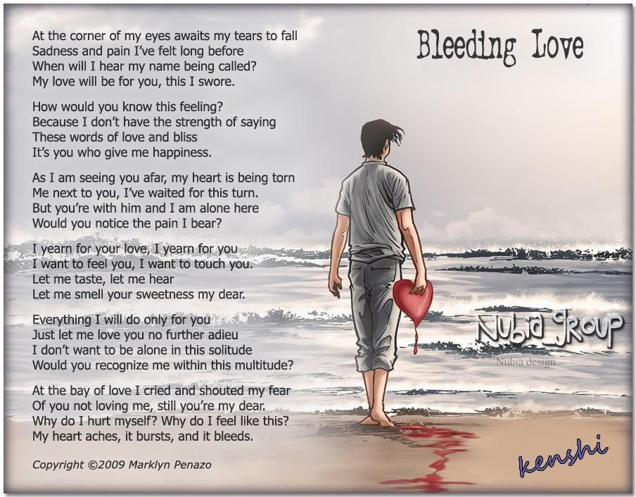 bleeding emo quotes quotesgram