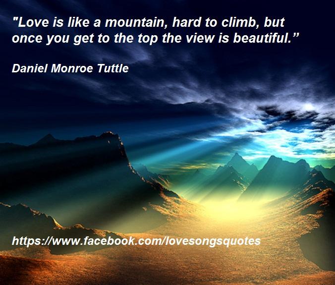 mountain view quotes  quotesgram