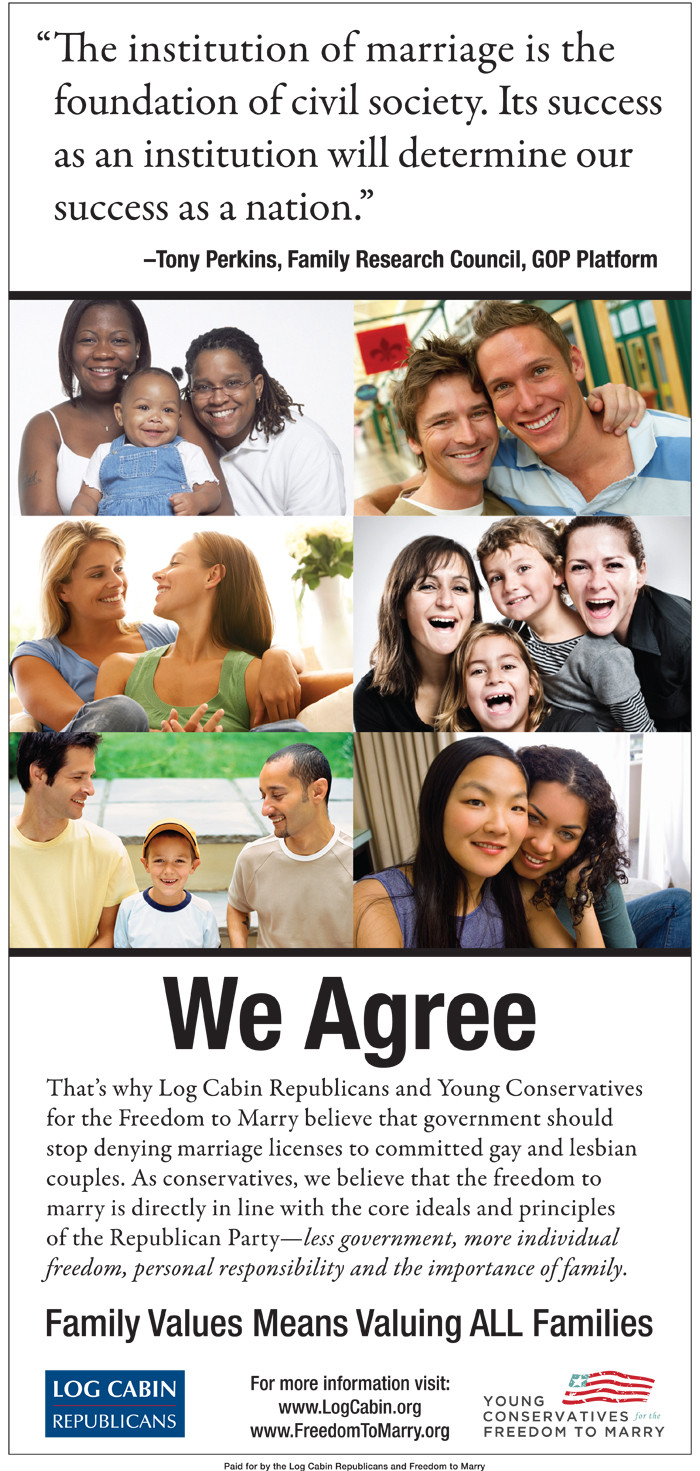 Conservative view on gay marriage