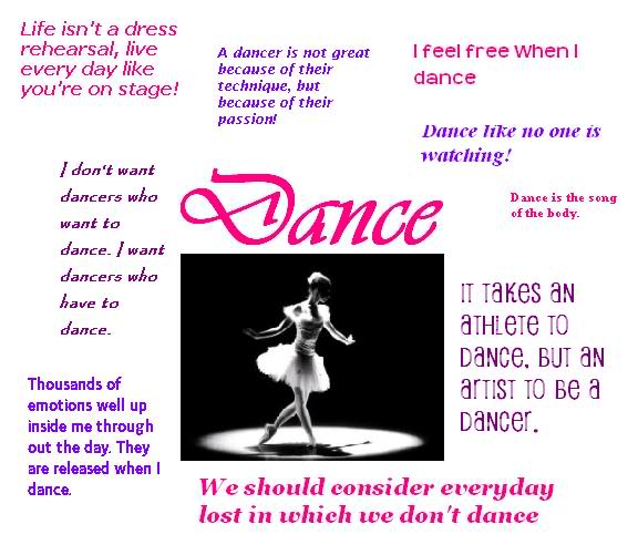 Dancer Birthday Quotes. QuotesGram