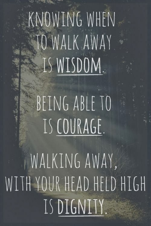 Time To Walk Away Quotes. QuotesGram