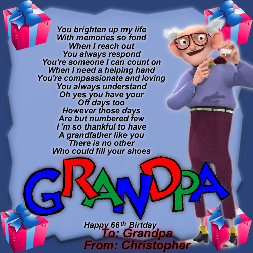 Funny Quotes For Her Birthday Quotesgram: Happy Birthday Grandpa Funny Quotes. QuotesGram