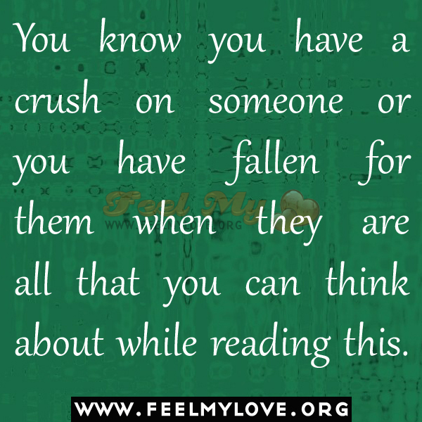 Quotes On Having A Crush On Someone: I Have A Crush On You Quotes. QuotesGram