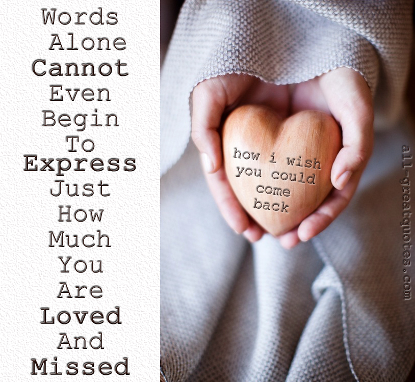 Quotes About Missing Mom Who Passed Away From Cancer