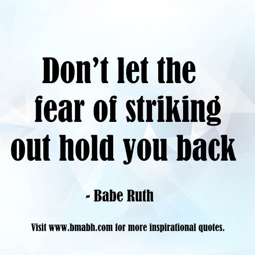 Inspirational Quotes About Fear: Inspirational Uplifting Quotes For Hard Time. QuotesGram