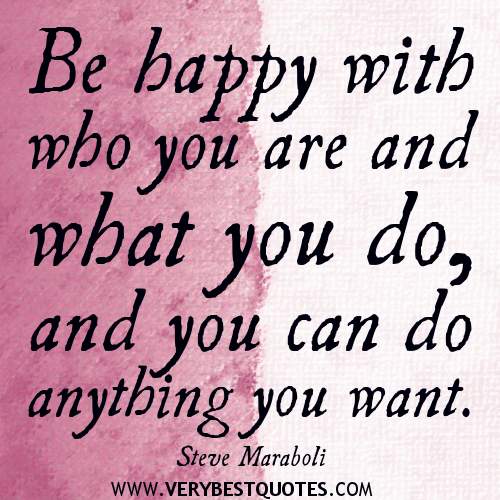 Inspirational Quotes About Being Happy: Happy Thought Inspirational Quotes. QuotesGram