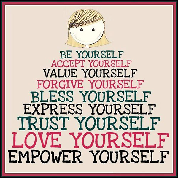 Inspirational Quotes On Loving Yourself: Inspirational Quotes About Loving Yourself. QuotesGram