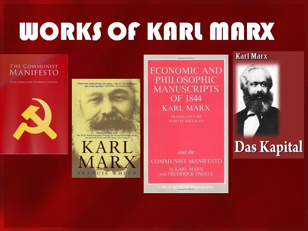 the life and works of karl marx Left of karl marx: the political life of black communist claudia jones author(s):  carole boyce davies: published: february 2008: pages: 344: illustrations: 31.