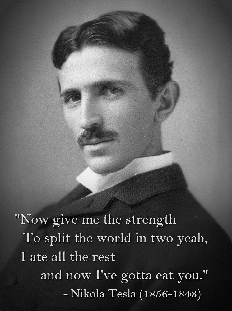 By Nikola Tesla Quotes Quotesgram