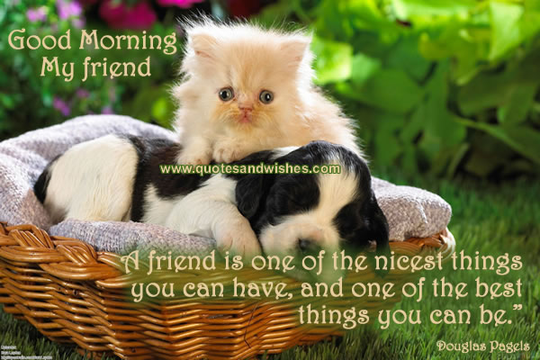 Best Friend Quotes Good Morning. QuotesGram