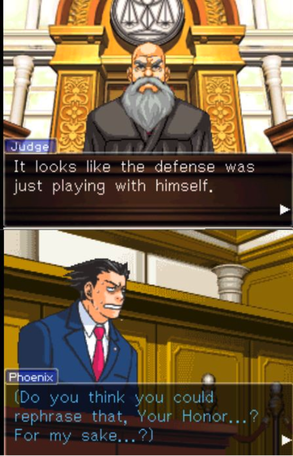 Ace Attorney Quotes Quotesgram