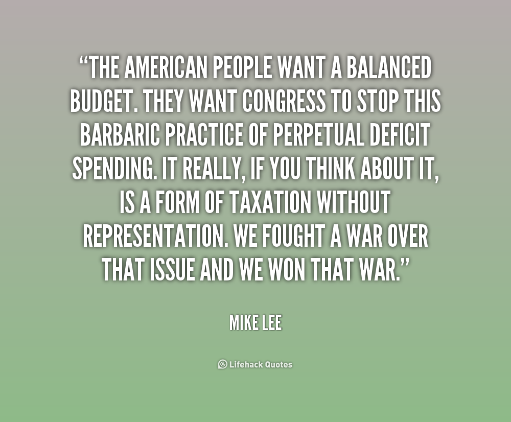 What Is a Balanced Budget?