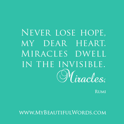 Quotes About Parents Love And Support Rumi Quotes On Hope. Q...
