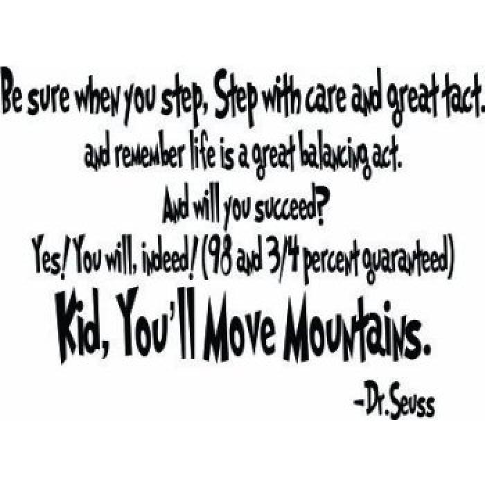 You did it graduation quotes quotesgram - Dr Seuss Quotes Quotesgram