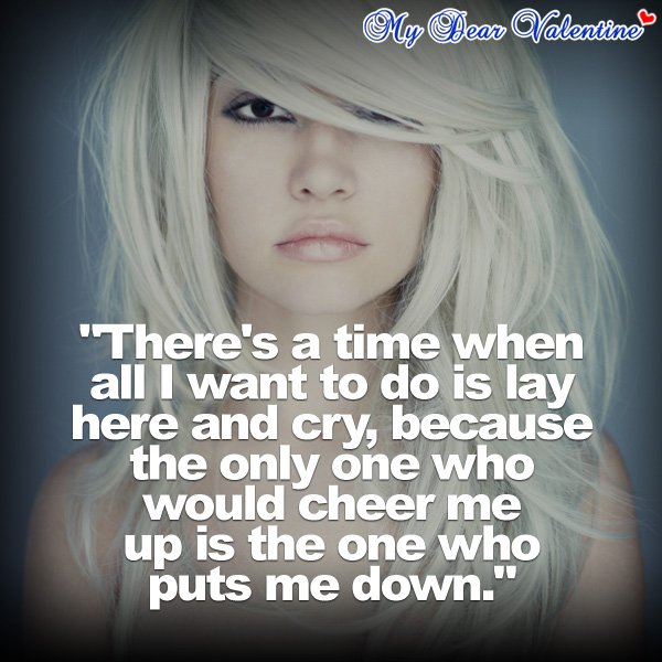Quotes About Wanting To Cry All I Want Is Y...