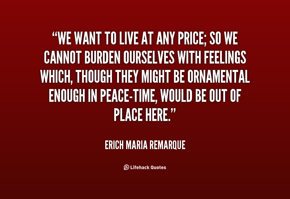 """erich maria remarque s works as representations Check out our top free essays on erich fromm to help you  reading erich maria remarque's world war i tale """"all quiet on the western  works."""