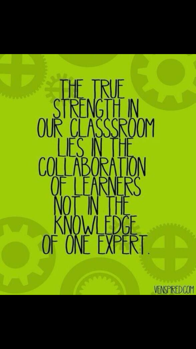 Collaborative Teaching ~ Collaboration quotes quotesgram